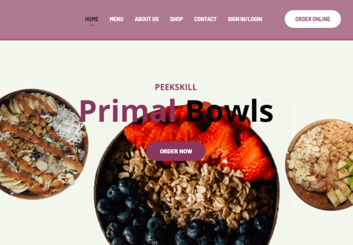 Primal Bowls